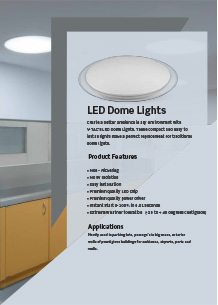 LED Dome Lights