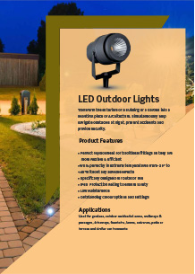 LED Outdoor Lights