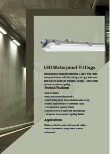 LED Waterproof Fittings
