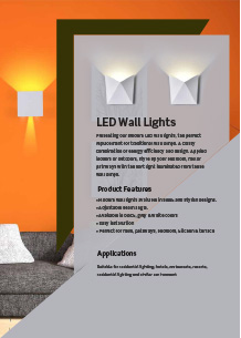 LED Wall Lights