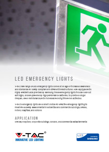 Samsung LED Emergency Lights
