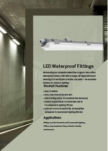 LED Waterproof Fittings