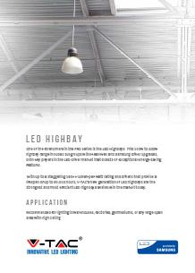 Samsung LED Highbay