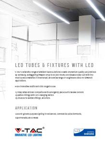 Samsung LED Tubes