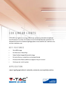 Samsung LED Linear Lights