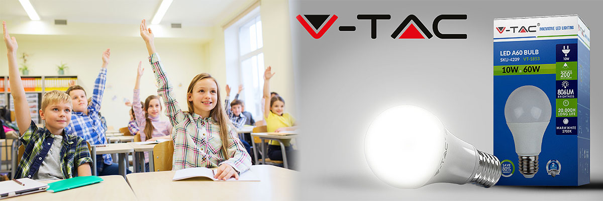 Welcome in class with V-TAC!